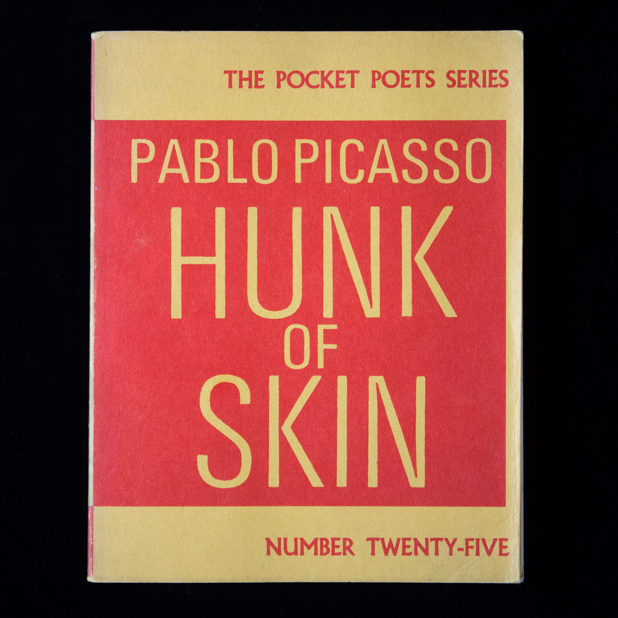 hunk of skin pablo picasso 1st us edition