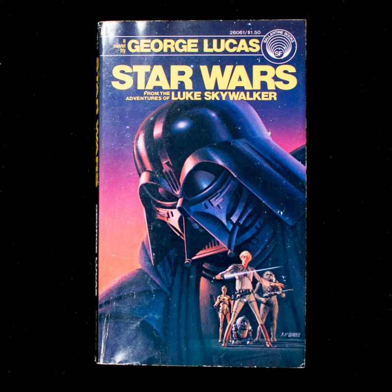 Star Wars. George Lucas, ghostwriter, Alan Dean Foster.