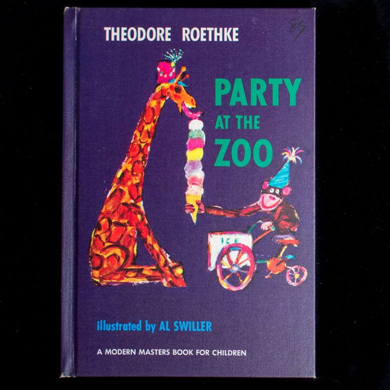 Party at the Zoo. Theodore Roethke, Al Swiller, illustrations.