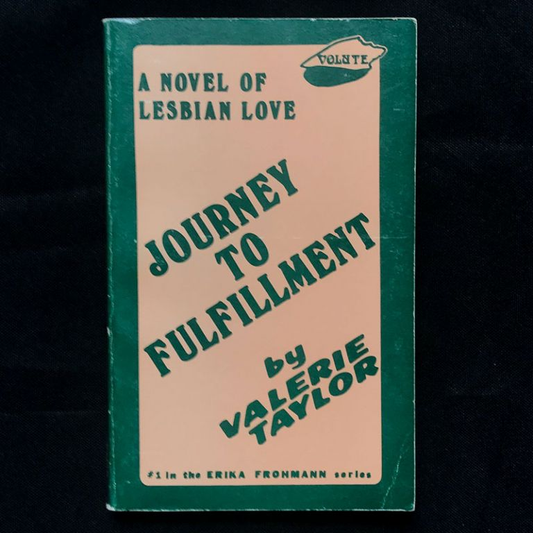 Journey to Fulfillment. Valerie Taylor, pseud. of Velma Tate.