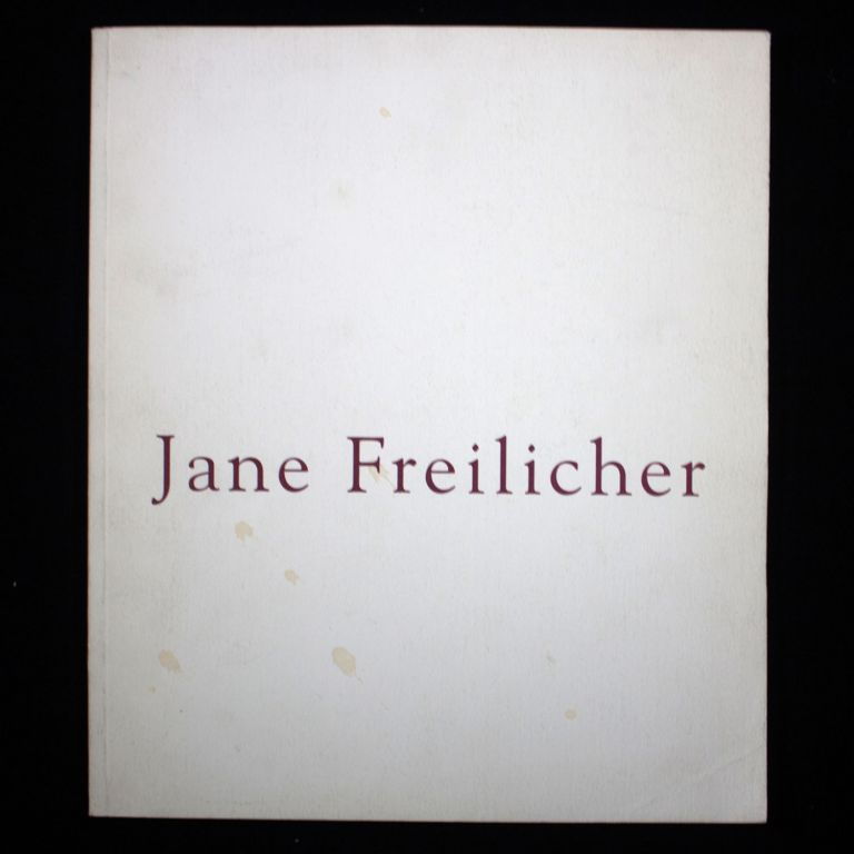 Jane Freilicher. Jane Freilicher, John Ashbery, introduction.