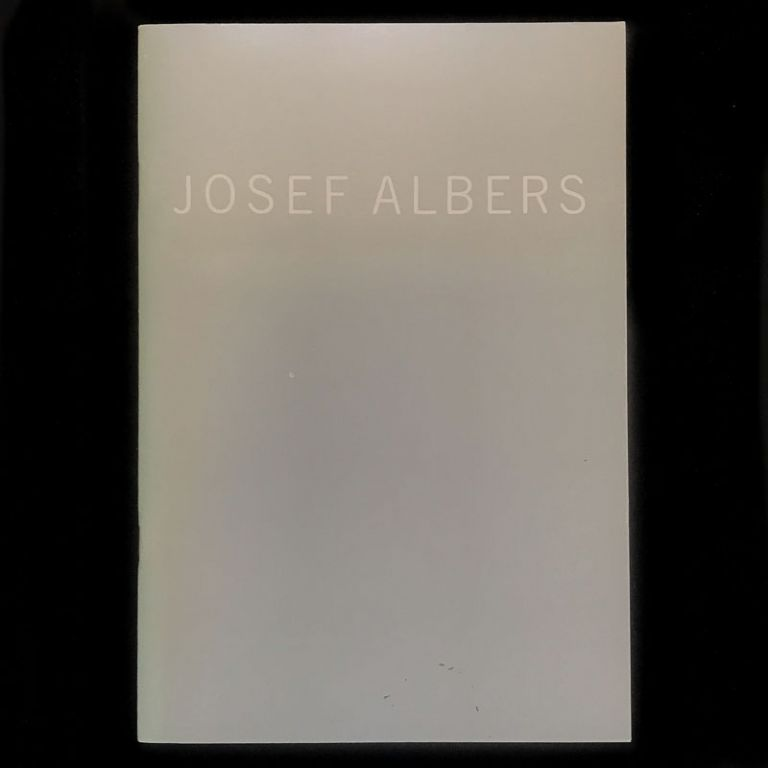 White Embossings On Gray. Josef Albers, Gerald Nordland, Kenneth Tyler, texts.