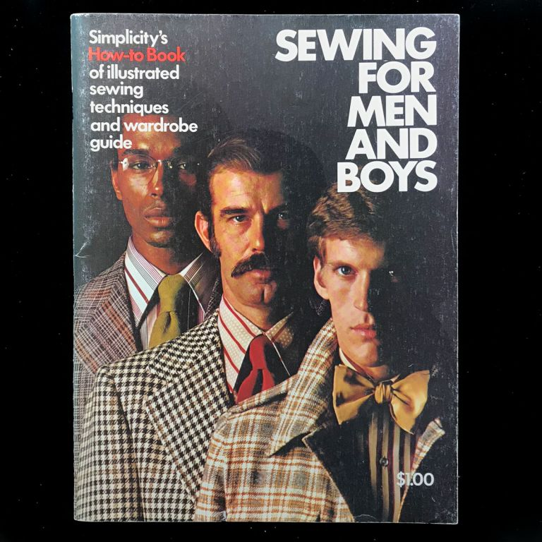 Sewing for Men and Boys. Simplicity Pattern.