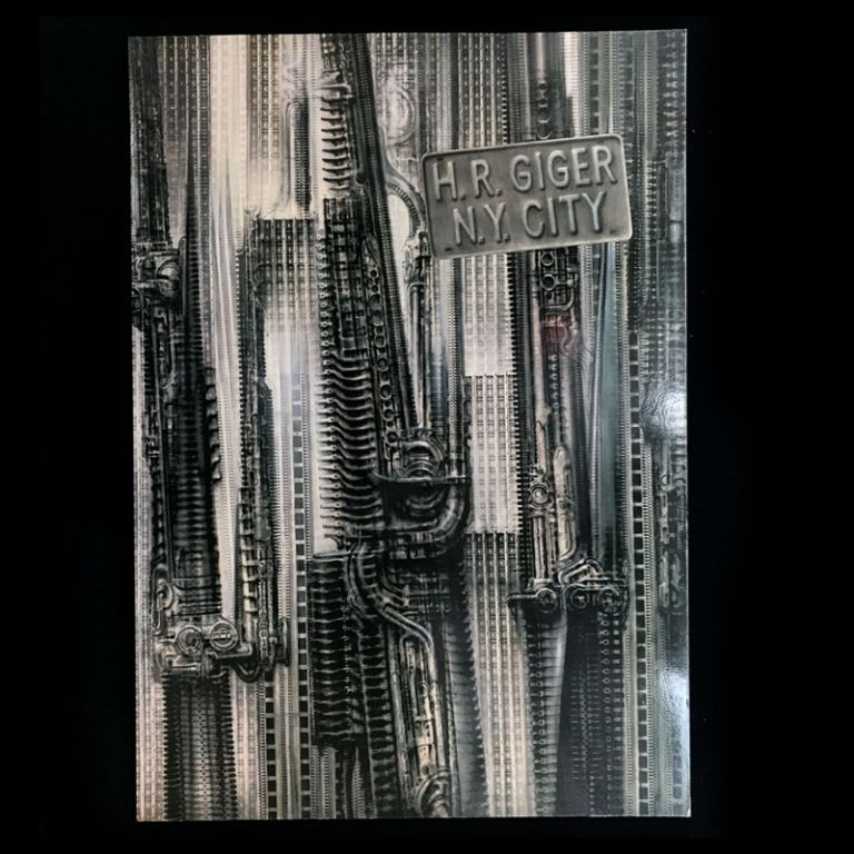 H.R. Giger N.Y. City. H. R. Giger, Timothy Leary, introduction.