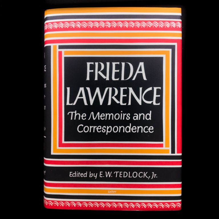 Frieda Lawrence. Frieda Lawrence, E. W. Tedlock Jr.