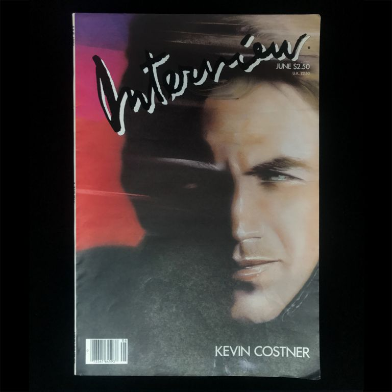 Interview. Kevin Costner, Andy Warhol.