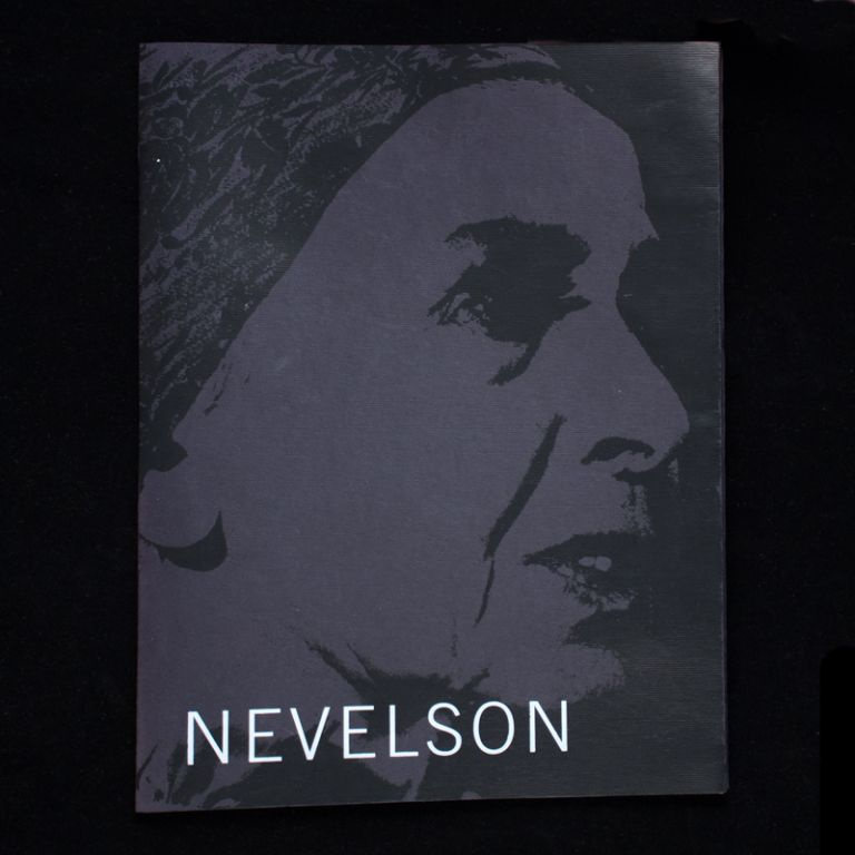 Louise Nevelson: Sculpture of the '50s and '60s. Louise Nevelson, Robert C. Morgan, essay.