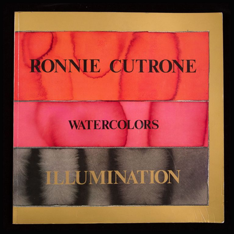 Watercolors. Illuminations. Ronnie Cutrone.