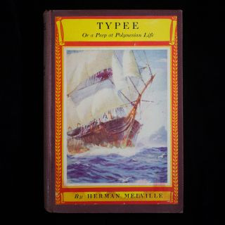 Typee, Or a Peep at Polynesian Life. Herman Melville.