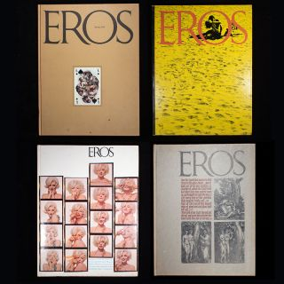 Eros Magazine. Ralph Ginzburg, Herb Lubalin, and publisher, art director
