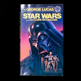 Star Wars. George Lucas, ghostwriter, Alan Dean Foster