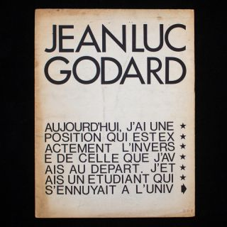 Kinopraxis No. 0. Jean-Luc Godard, Jack Flash, pseud. of Bertrand Augst.