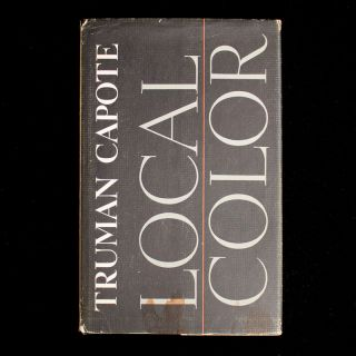 Local Color. Truman Capote