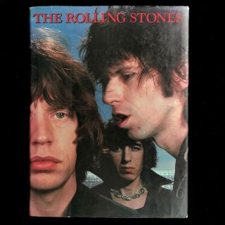 The Rolling Stones. Rolling Stones, Robert Palmer, Mary Shanahan, text, design