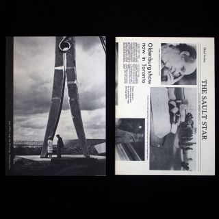 Photo Log May 1974 - August 1976; Press Log May 1974 - August 1976. Claes Oldenburg