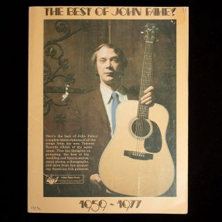 The Best of John Fahey. John Fahey, John Lescroart