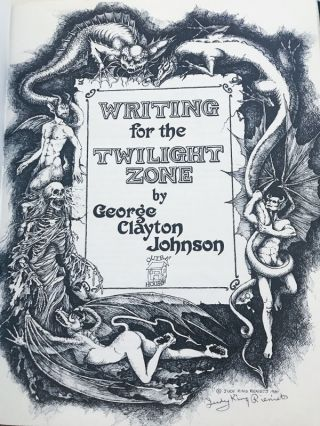 Writing for The Twilight Zone
