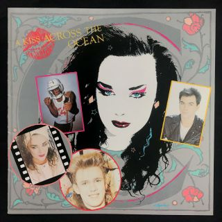 """A Kiss Across the Ocean"" Tour Program. Boy George, Culture Club"