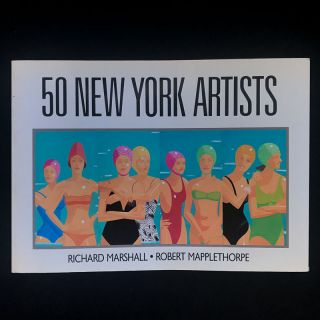 50 New York Artists. Richard Marshall, Robert Mapplethorpe