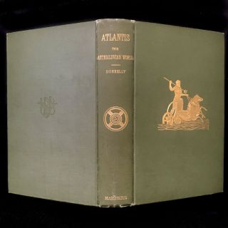 Atlantis: The Antediluvian World. Ignatius Donnelly