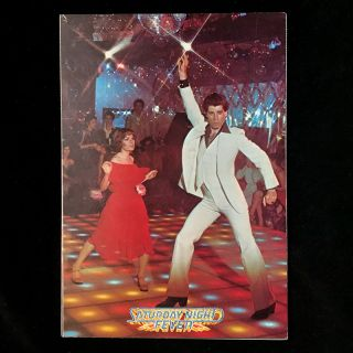 Saturday Night Fever movie promotion gatefold]. Paramount Pictures, John Travolta