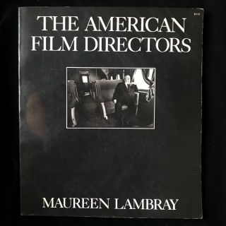 The American Film Directors. Maureen Lambray