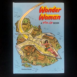 Wonder Woman. Ib Penick, Ross Andru, Dick Giordano, paper engineering, Illustrations