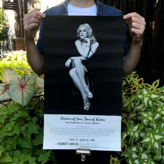 Oceans of Love, Tons of Kisses. Candy Darling, Jack Mitchell, photo