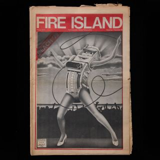 Fire Island. Peter McKenna, Steve Lawrence, Catherine Lott Divis, creative director, publisher