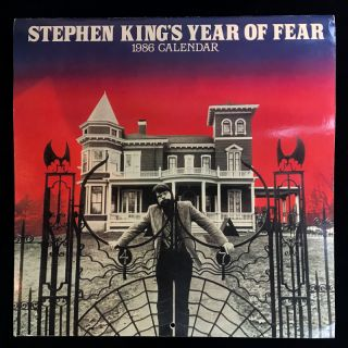 Stephen King's Year of Fear. Stephen King