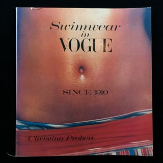 Swimwear in Vogue. Christina Probert