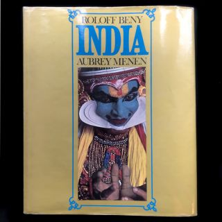 India. Roloff Beny, Aubrey Menen, photos, text