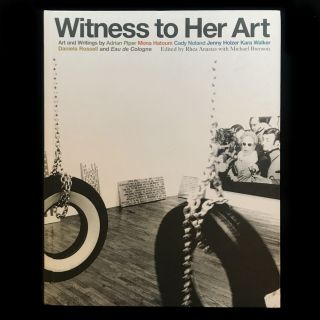 Witness to Her Art. Rhea Anastas, Michael Brenson