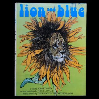 Lion and Blue. Robert Vavra, Fleur Cowles, illustrations
