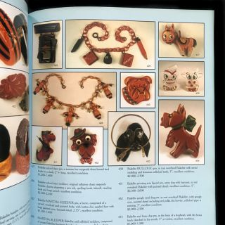 The Life Collection of Angelo Testa. Bakelite, Designer Costume, Modernist & Mexican Silver Jewelry Auction Catalog