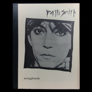 Patti Smith Songbook. Patti Smith