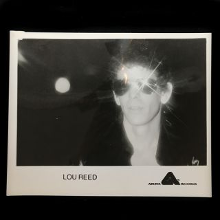 Lou Reed / Street Hassle promotional photo]. Lou Reed, Michael Ochs, photographer