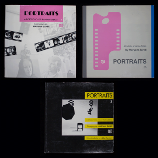 Portraits 1: A Portfolio of Iranian Literati; WITH: Portraits 2: A Portfolio of Iranian Artists; WITH: Portraits 3: A Portfolio of Iranian Film and Theatre Celebrities