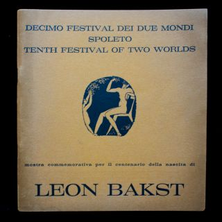 An Exhibition for the Centenary of Leon Bakst. Leon Bakst