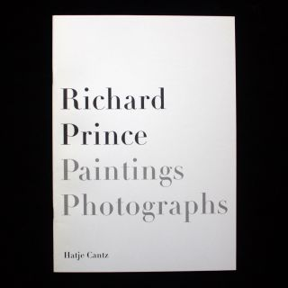 Richard Prince, Paintings - Photographs