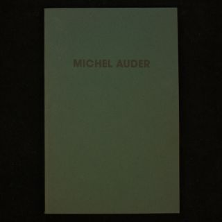 Selected Video Works. Michel Auder