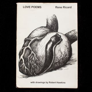 Love Poems. Rene Ricard, Robert Hawkins.