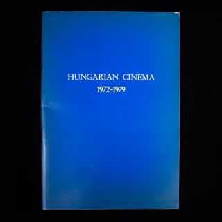 Hungarian Cinema. David Robinson