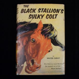 The Black Stallion's Sulky Colt. Walter Farley, Harold Eldridge.