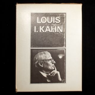 Louis I. Kahn: Silence and Light. Louis I. Kahn
