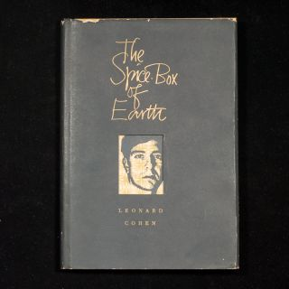The Spice-Box of Earth. Leonard Cohen, Frank Newfeld, drawings