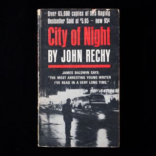 City of Night. John Rechy.